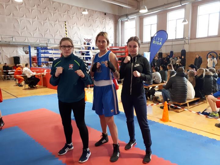 Moterų bokso mače pasižymėjo panevėžietės