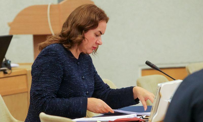 Prezidentė pasirašė dekretą dėl teisingumo ministrės atsistatydinimo