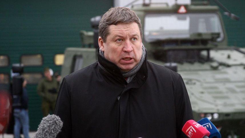 Dezinformacijos ataka: paskleista žinia, kad R. Karoblis pripažino Krymo okupaciją