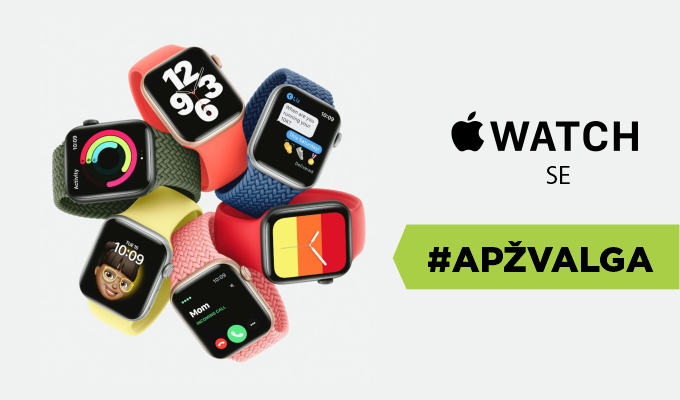 """""""Apple Watch SE"""" – pigesnis, bet ne prastesnis """"Apple"""" išmanusis laikrodis. Apžvalga"""