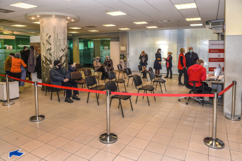 Panevėžyje veiklą pradėjo vakcinavimo centras