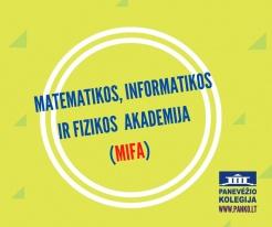 Beveik 100 abiturientų matematikos ir fizikos egzaminams ruošis kartu su MIFA