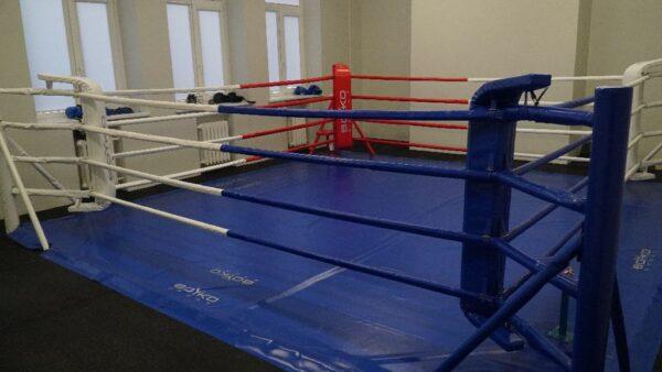 Panevėžio Raimundo Sargūno įrengtas naujas kabinetas – bokso ringas