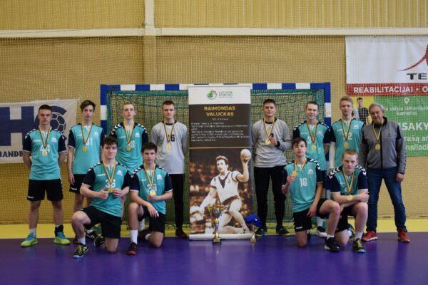Raimundo Valucko taurė - Panevėžio Raimundo Sargūno sporto gimnazijos rankininkams