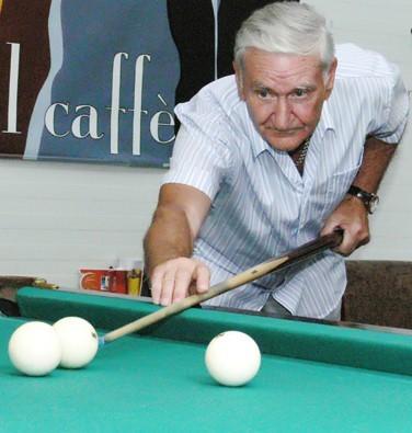 Nusipelnęs Panevėžio miestui sporto veteranas Marijonas Gečas švenčia 85-metį