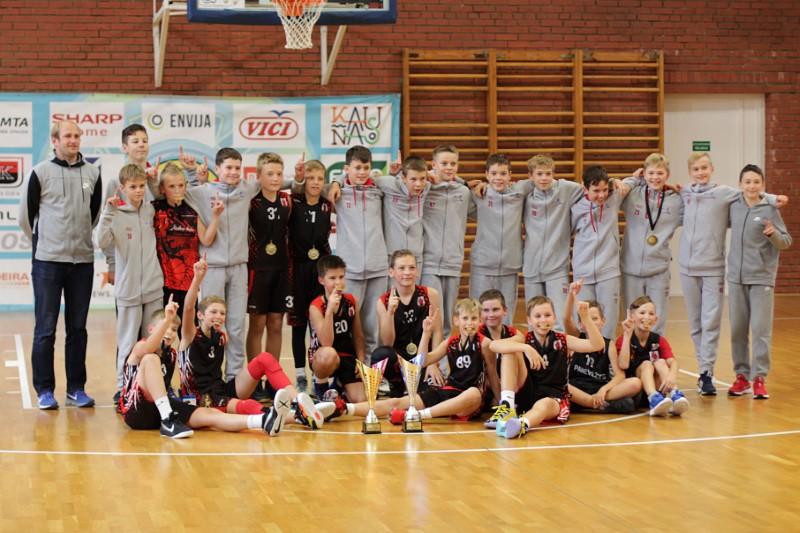 Panevėžio sporto centro krepšininkai užėmė prizines vietas