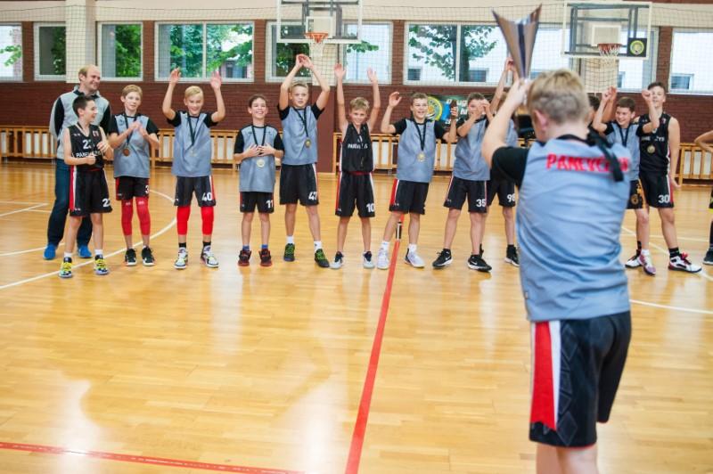Panevėžio sporto centro krepšininkai