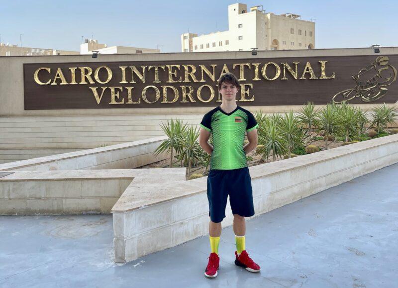 Panevėžio sporto centro ugdytinis – vienintelis Lietuvos atstovas Pasaulio jaunių dviračių treko čempionate
