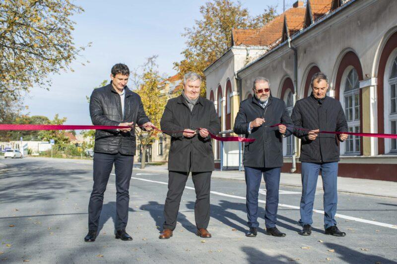 Panevėžyje oficialiai atidaryta Elektros gatvė