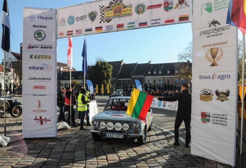 """Pagrindinis ralio """"Kauno ruduo"""" leitmotyvas – K. Girdausko pergalės """"Tour d'Europe"""" penkiasdešimtmetis"""
